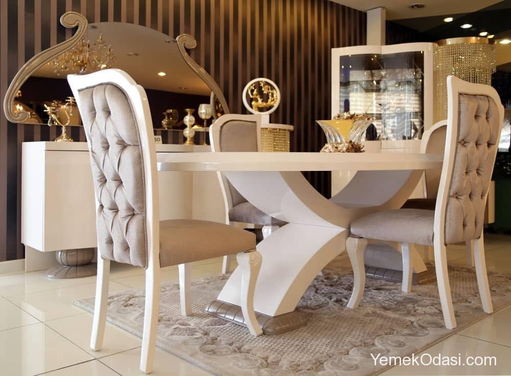 avangarde yemek odası
