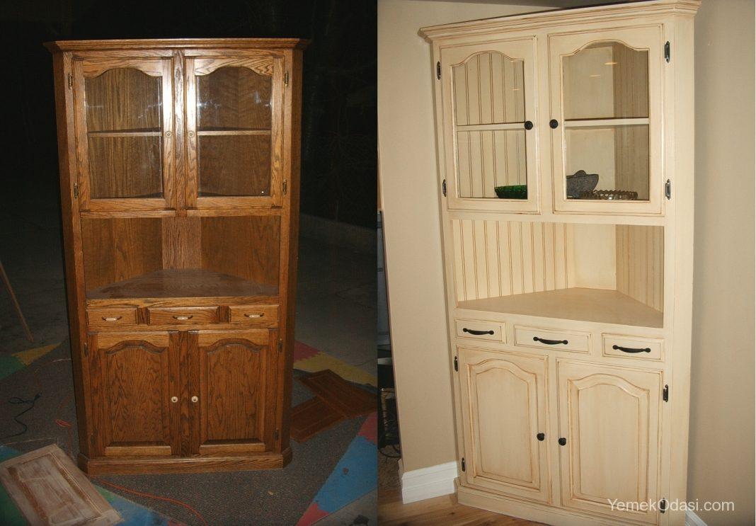Из старой кухонной мебели новую своими руками