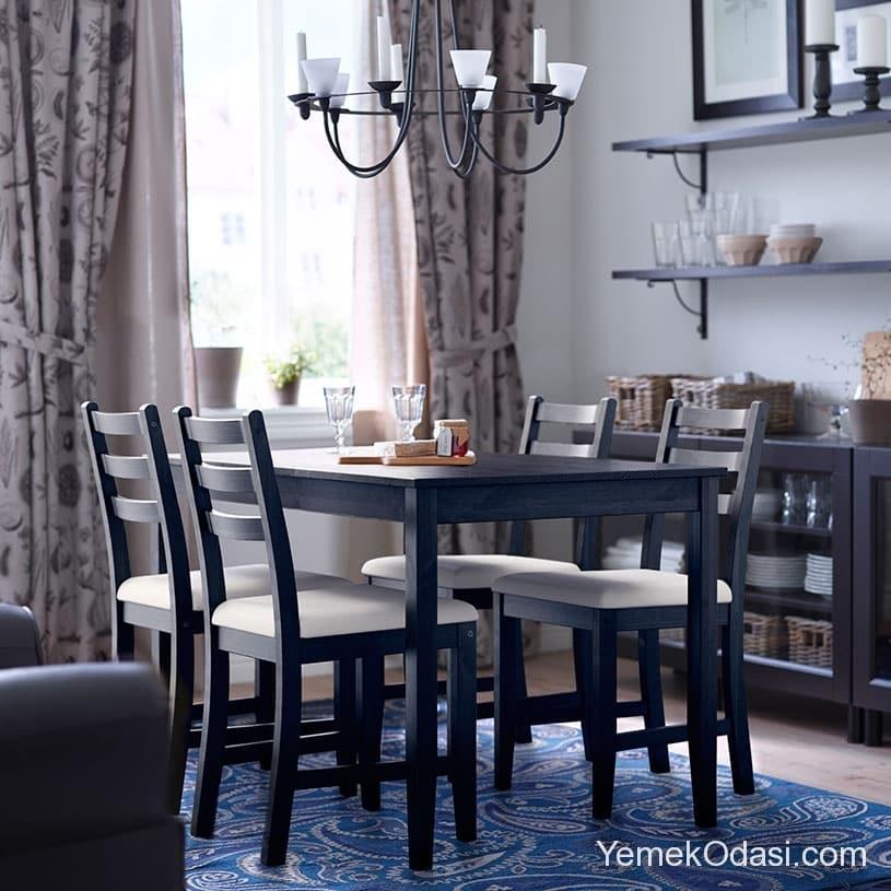 ikea yemek odas modelleri yemek odas ve dekorasyon. Black Bedroom Furniture Sets. Home Design Ideas