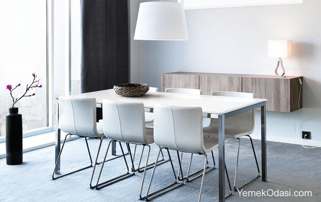 Ikea yemek odas modelleri yemek odas for Sillas de comedor transparentes