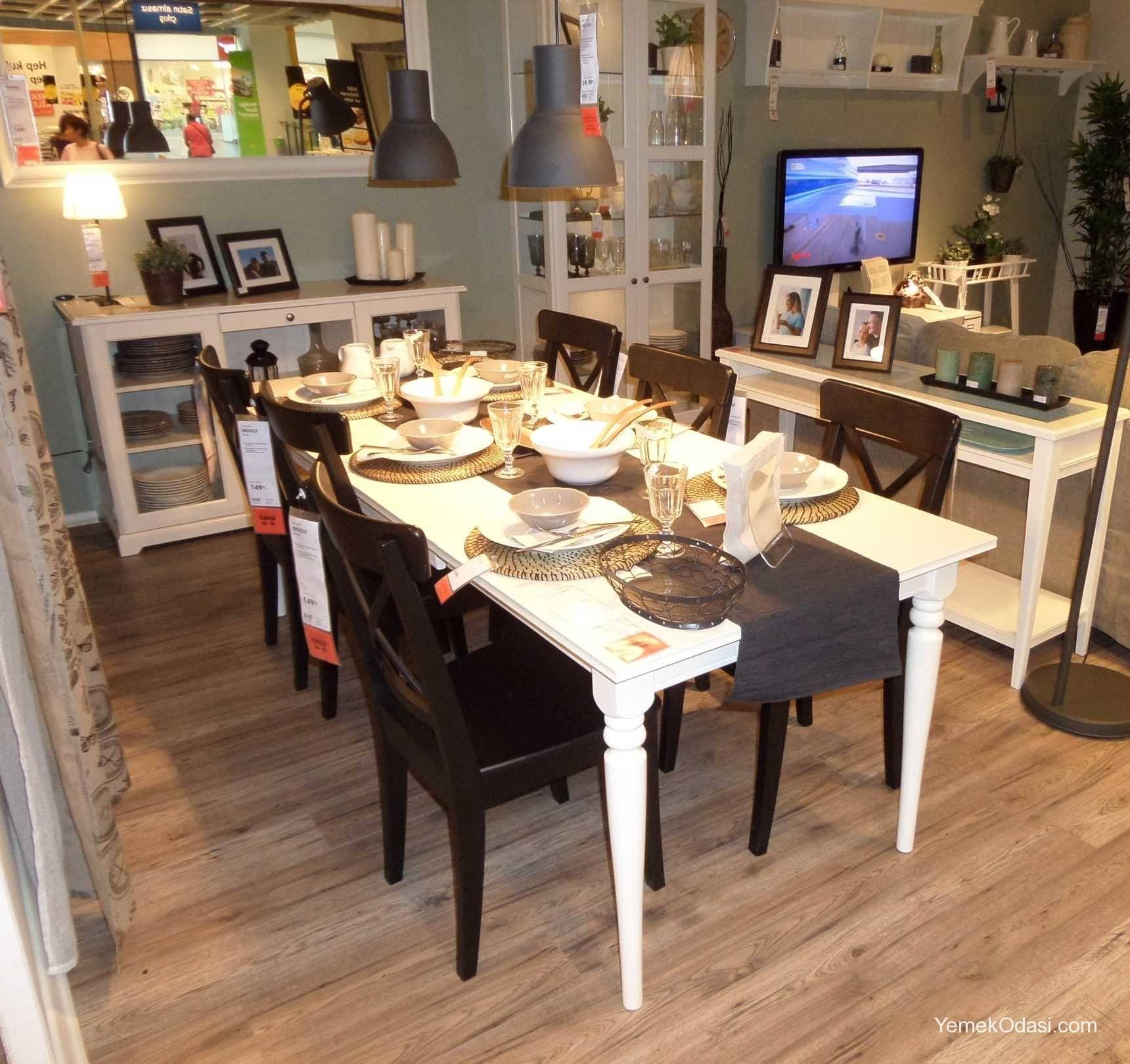 IKEA Yemek Odası Modelleri   Yemek Odası