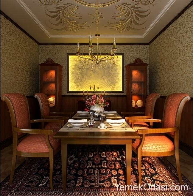 klasik-yemek-odasi-tasarimlari-3