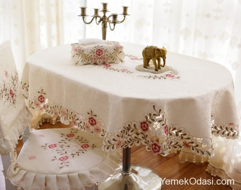 Masa rtleri Yemek Odas Ve Dekorasyon