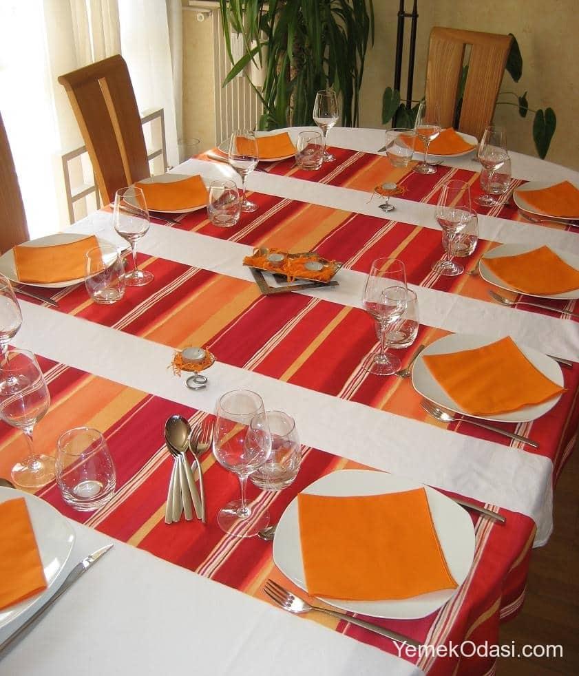 Masa rt leri yemek odas ve dekorasyon - Linge de maison portugais ...