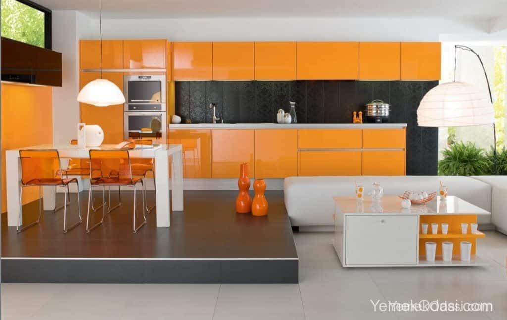 minimalist yemek odası