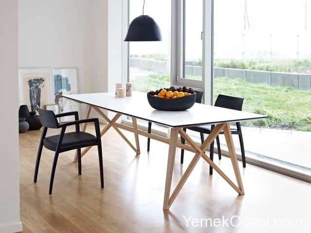 modern ahşap yemek masası (4)