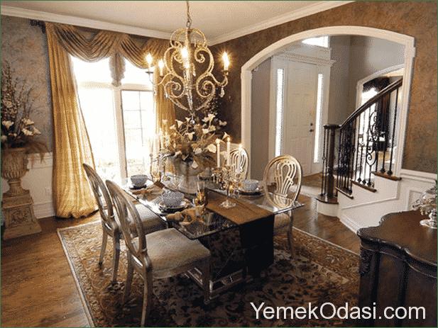 romantik-yemek-odasi-dekorasyonu