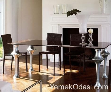 siyah yemek masaları (3)