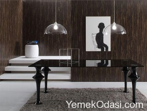 siyah yemek masaları (4)