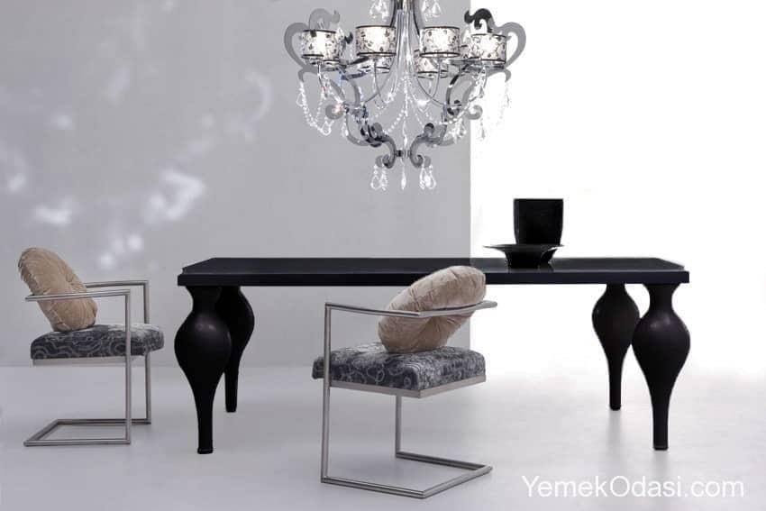 siyah yemek masaları (5)