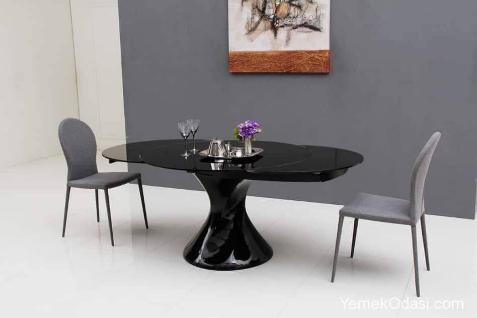 siyah yemek masaları (6)