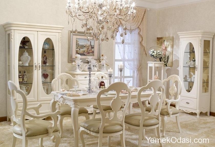 fransiz-stili yemek-odalari-7