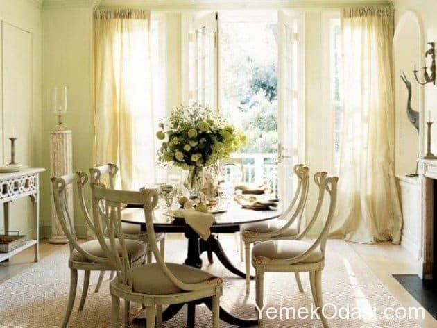 fransiz-stili yemek-odalari