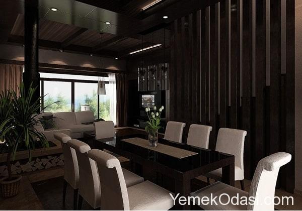 siyah-modern-yemek-odalari-7