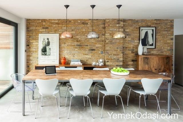 yemek-odasinda-tugla-duvarlar