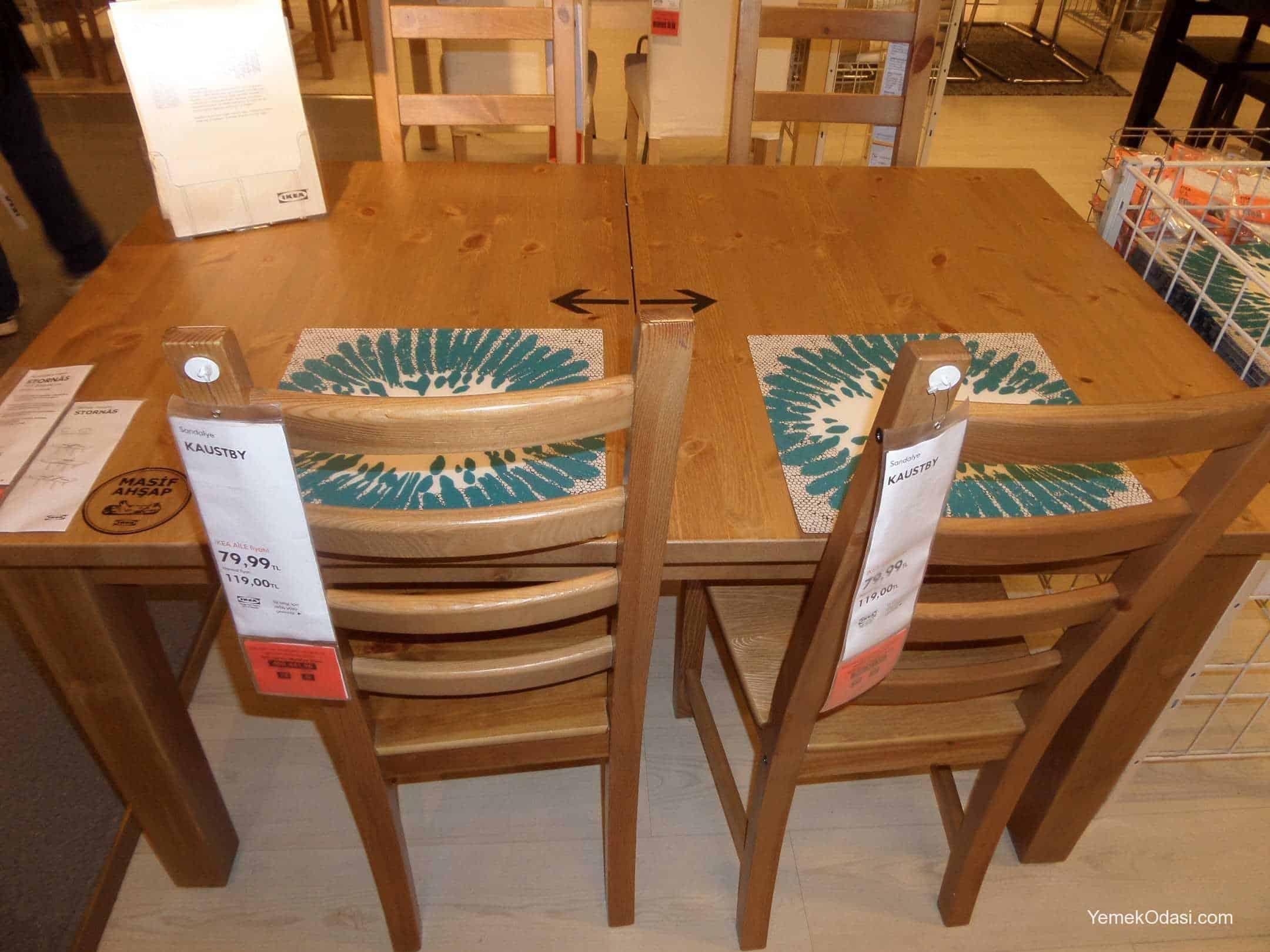 yeni ikea yemek masaları | yemek odası ve dekorasyon