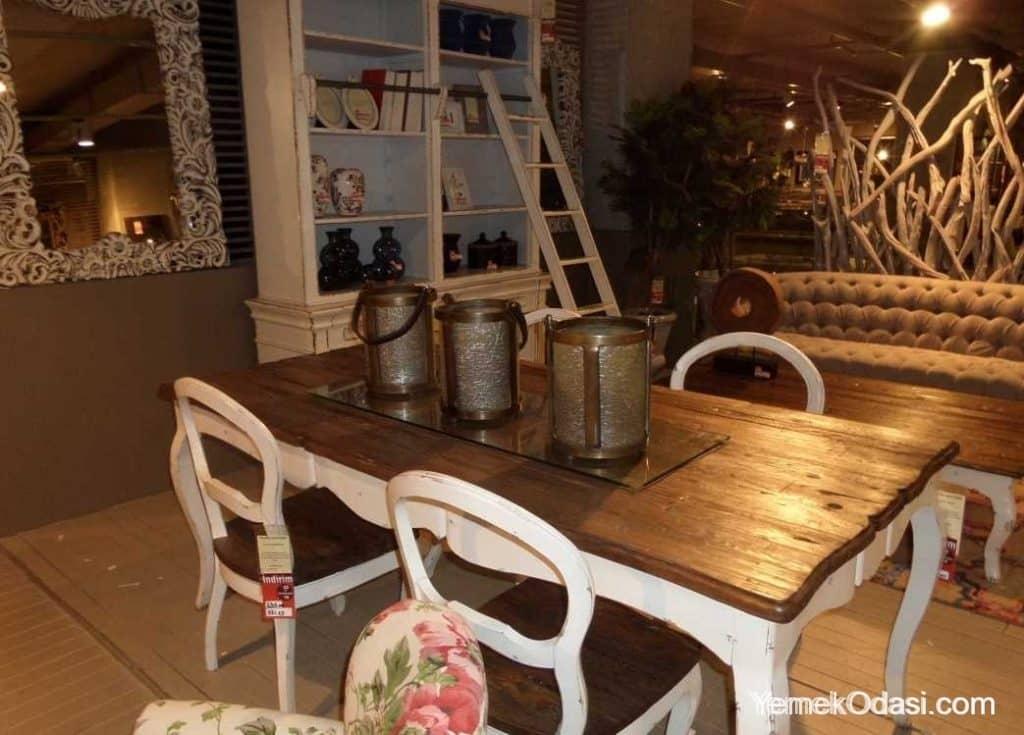 country-yemek-odasi-tasarimlari