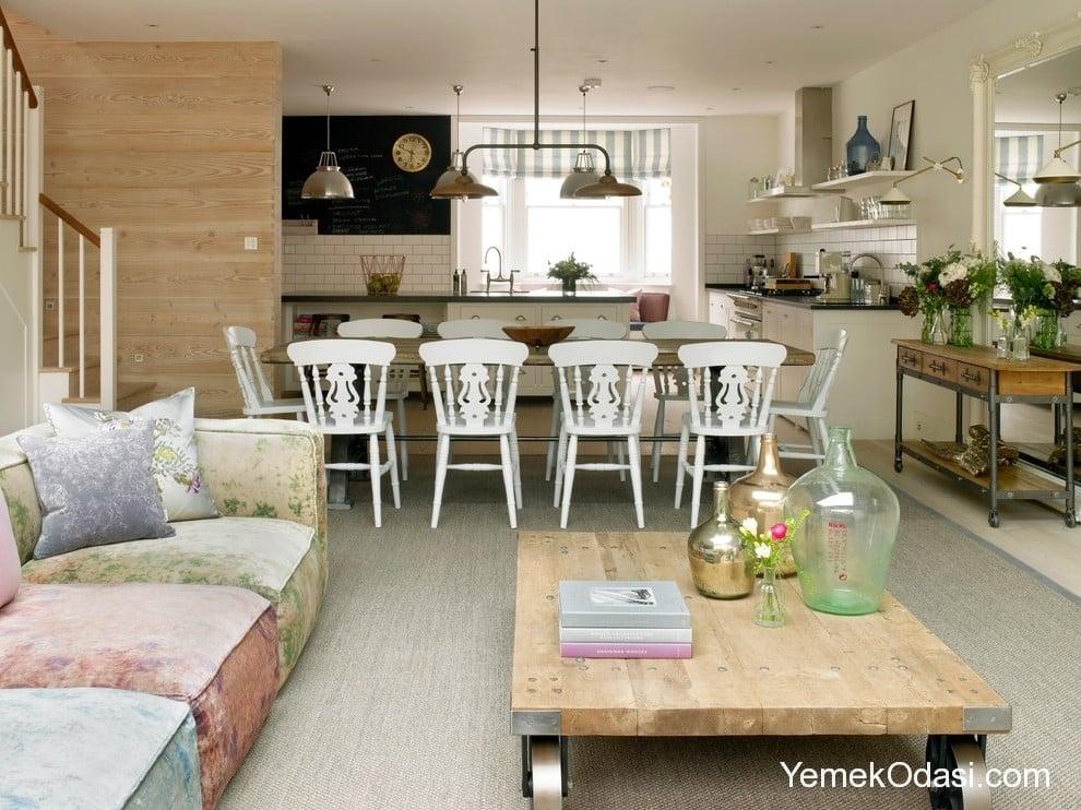 Yemek Odas Ve Koltuk Takm Uyumu Dekorasyon