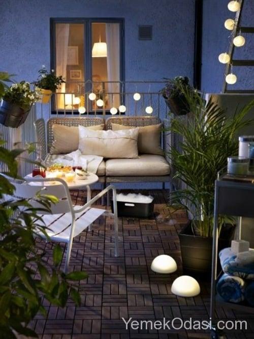 En güzel balkon dekorasyonları (1)