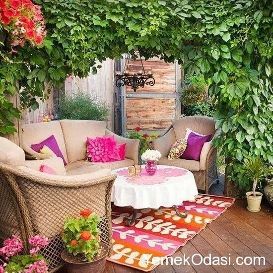 Bahe Ve Balkon Dekorasyon Fikirleri Yemek Odas