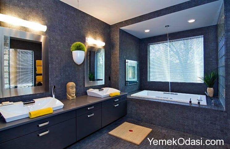 Banyo dekorasyon fikirleri yemek odas ve dekorasyon - Banyo dekorasyon ...