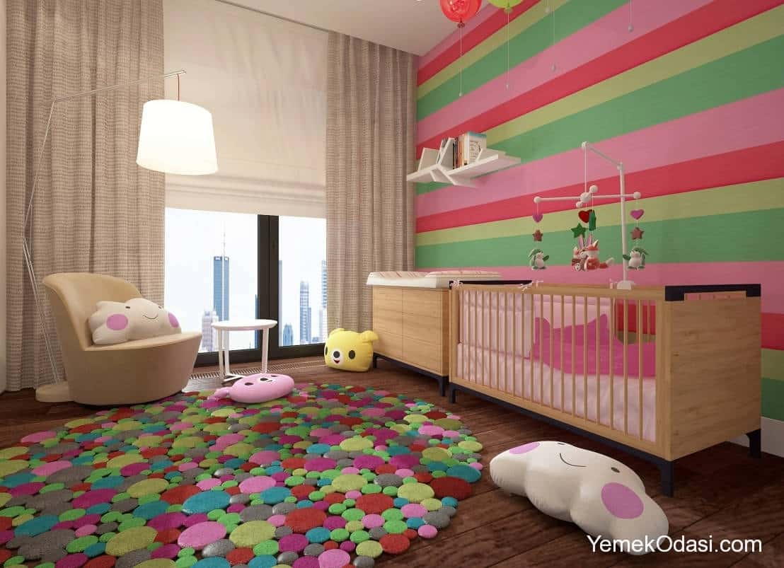 Bebek Odası İçin Farklı Dekorasyon Önerileri