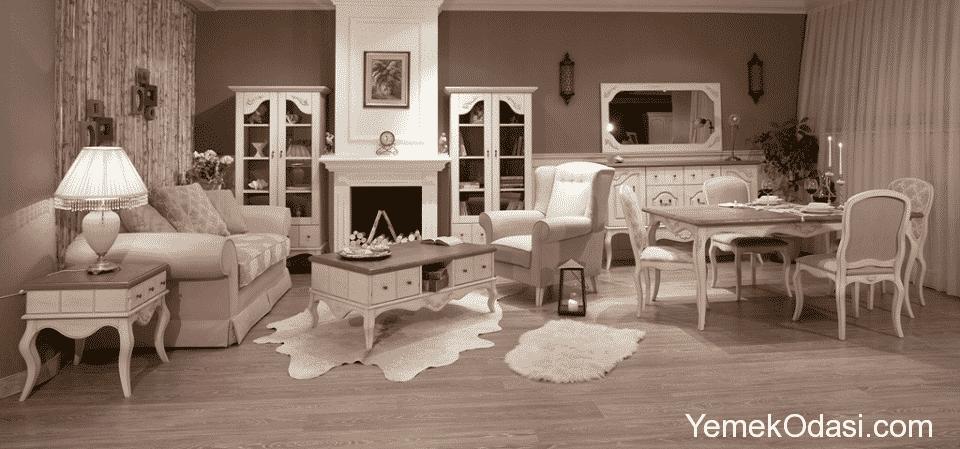 Vintage Dekorasyon Fikirleri Yemek Odas Ve Dekorasyon - Salon Modern ...
