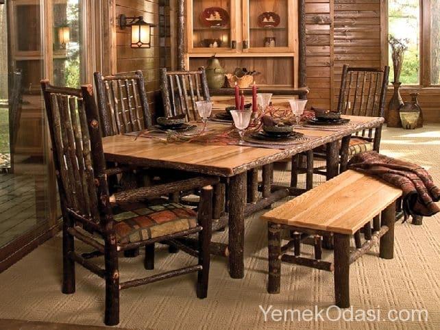 2016 Rustik Yemek Masaları 7