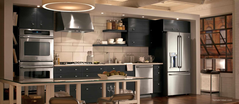 Amerikan Mutfak Dekorasyonları İle Mutfaklarınız Dudak