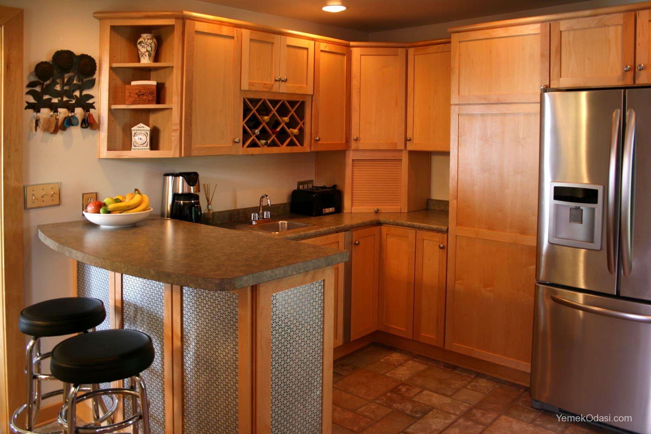 Amerikan Mutfak Dekorasyonları İle Mutfaklarınız Dudak Uçuklatacak 6