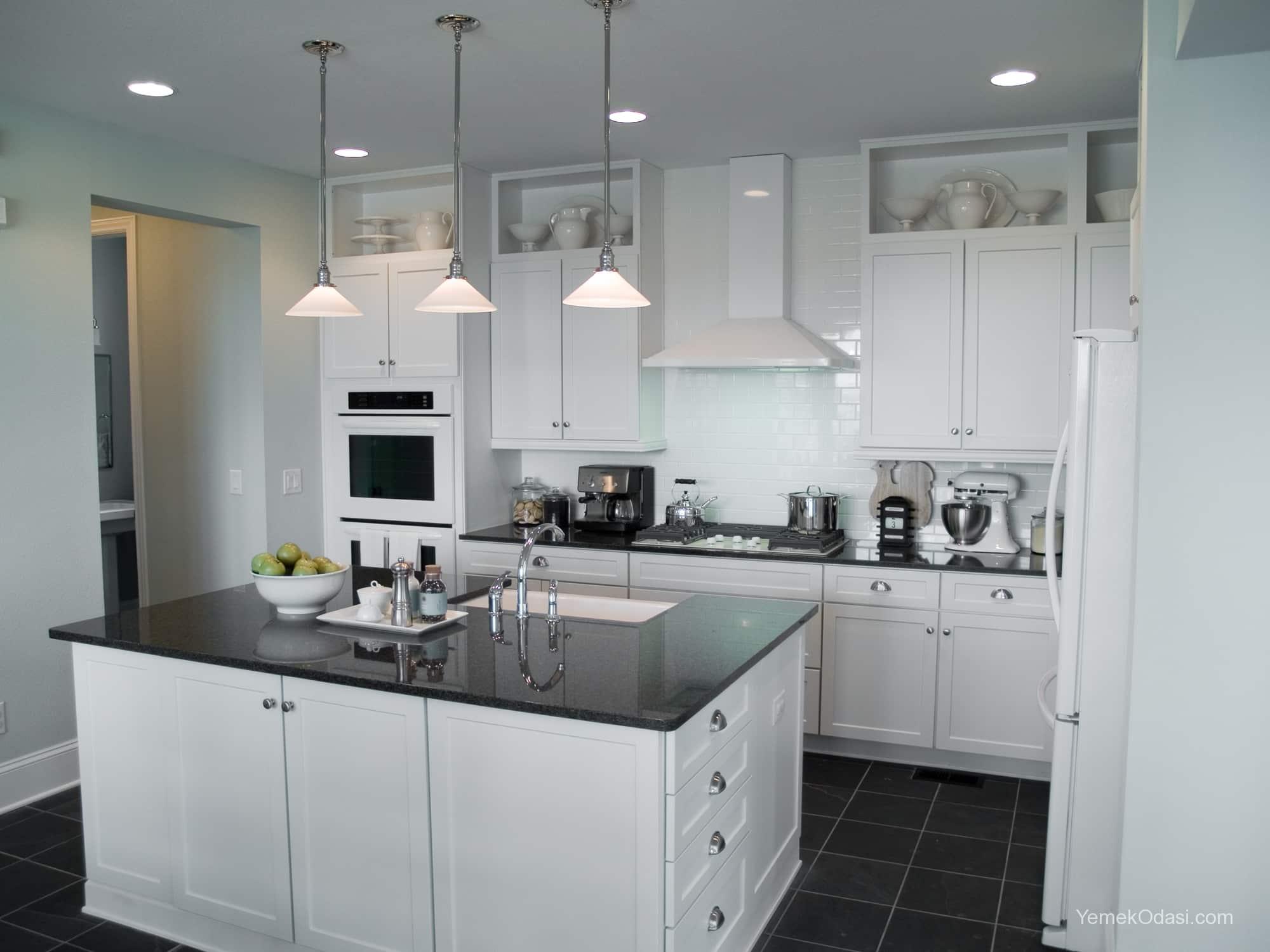 Amerikan Mutfak Dekorasyonları İle Mutfaklarınız Dudak Uçuklatacak 7