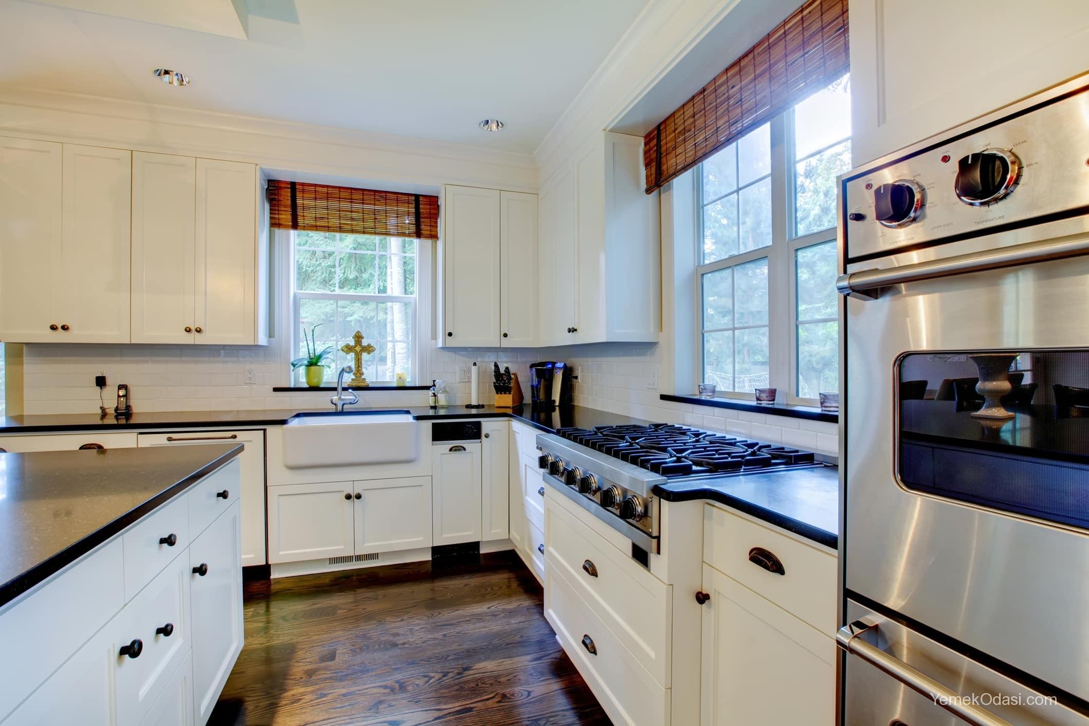 Amerikan Mutfak Dekorasyonları İle Mutfaklarınız Dudak Uçuklatacak 8