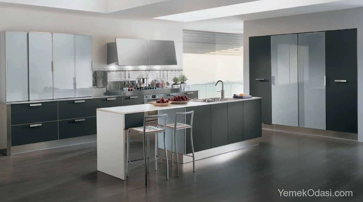 Amerikan Mutfak Dekorasyonları İle Mutfaklarınız Dudak Uçuklatacak 9