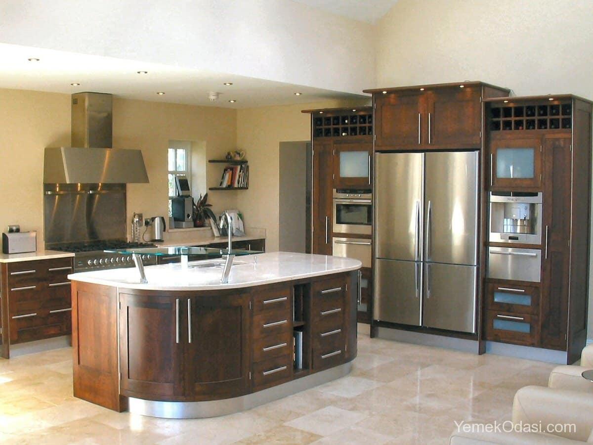 Amerikan Mutfak Dekorasyonları İle Mutfaklarınız Dudak Uçuklatacak 10