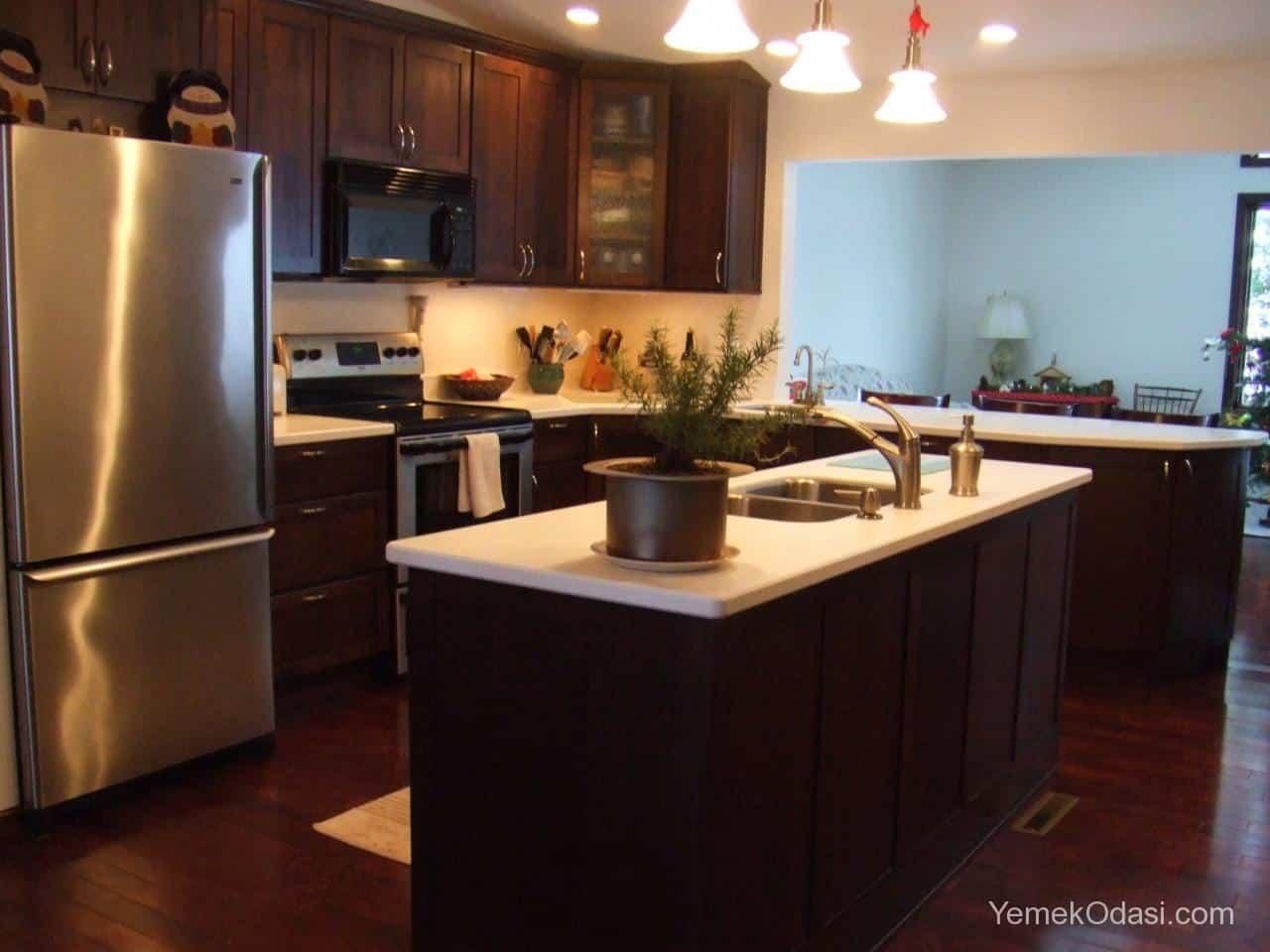 Amerikan Mutfak Dekorasyonları İle Mutfaklarınız Dudak Uçuklatacak 11