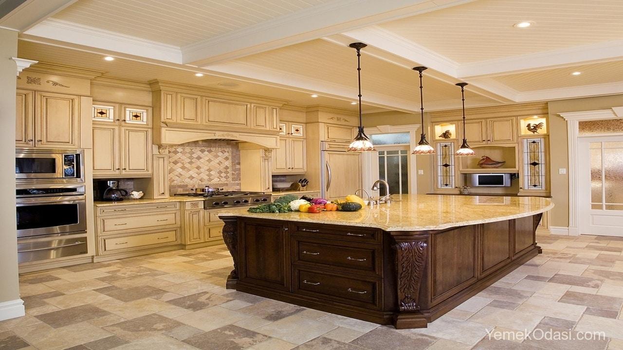 Amerikan Mutfak Dekorasyonları İle Mutfaklarınız Dudak Uçuklatacak 13