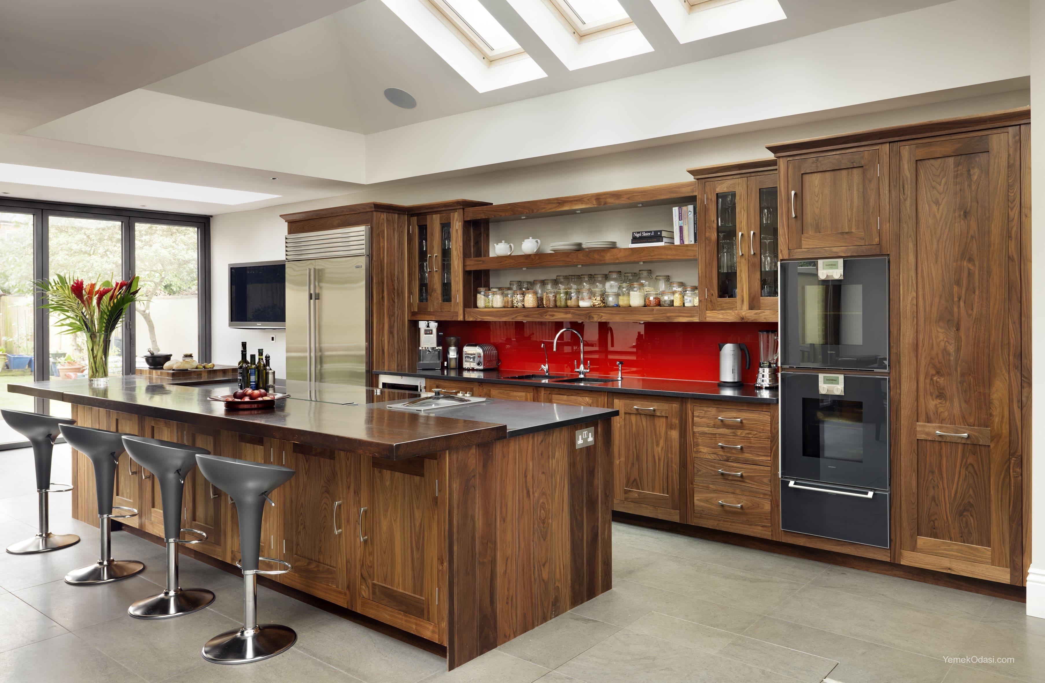 Amerikan Mutfak Dekorasyonları İle Mutfaklarınız Dudak Uçuklatacak 14