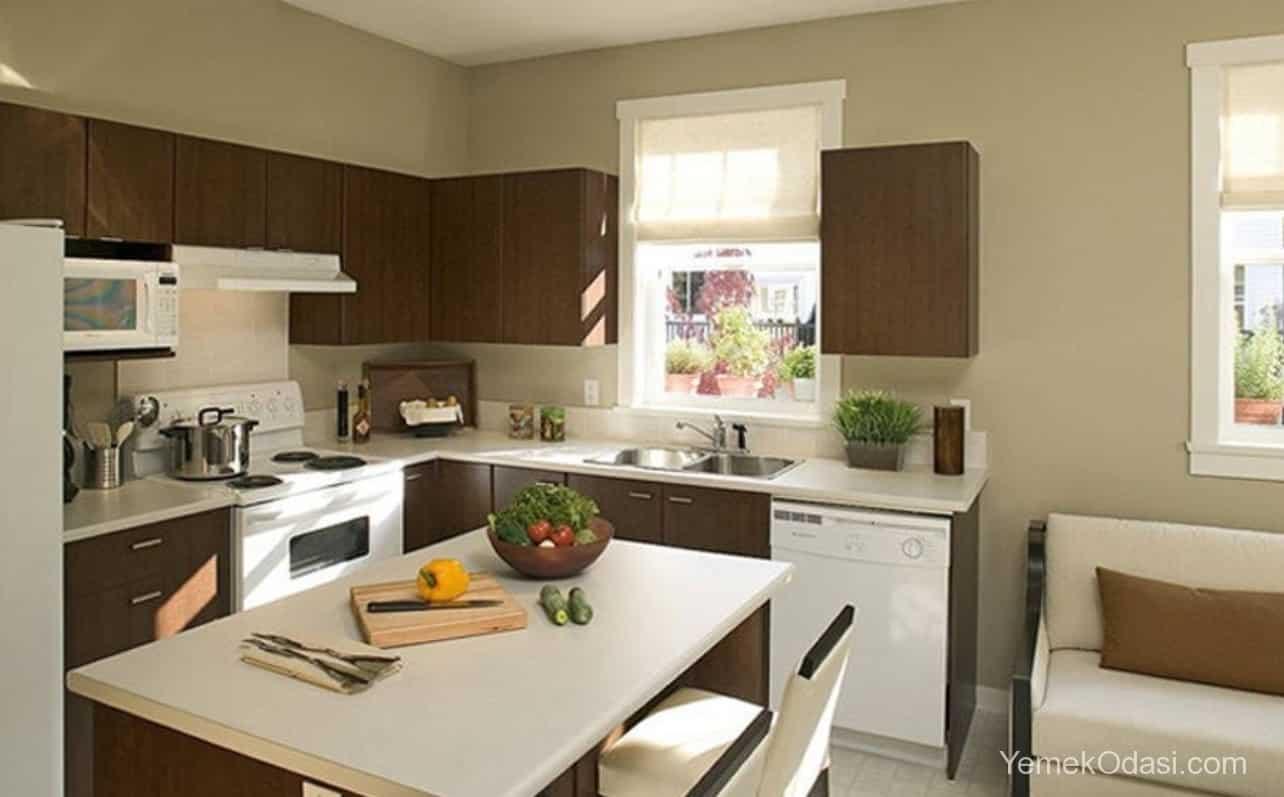 Amerikan Mutfak Dekorasyonları İle Mutfaklarınız Dudak Uçuklatacak 15