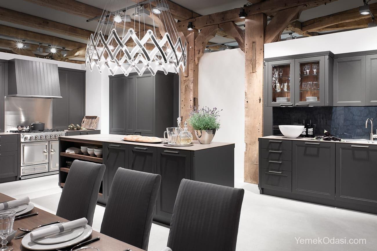 Amerikan Mutfak Dekorasyonları İle Mutfaklarınız Dudak Uçuklatacak 16