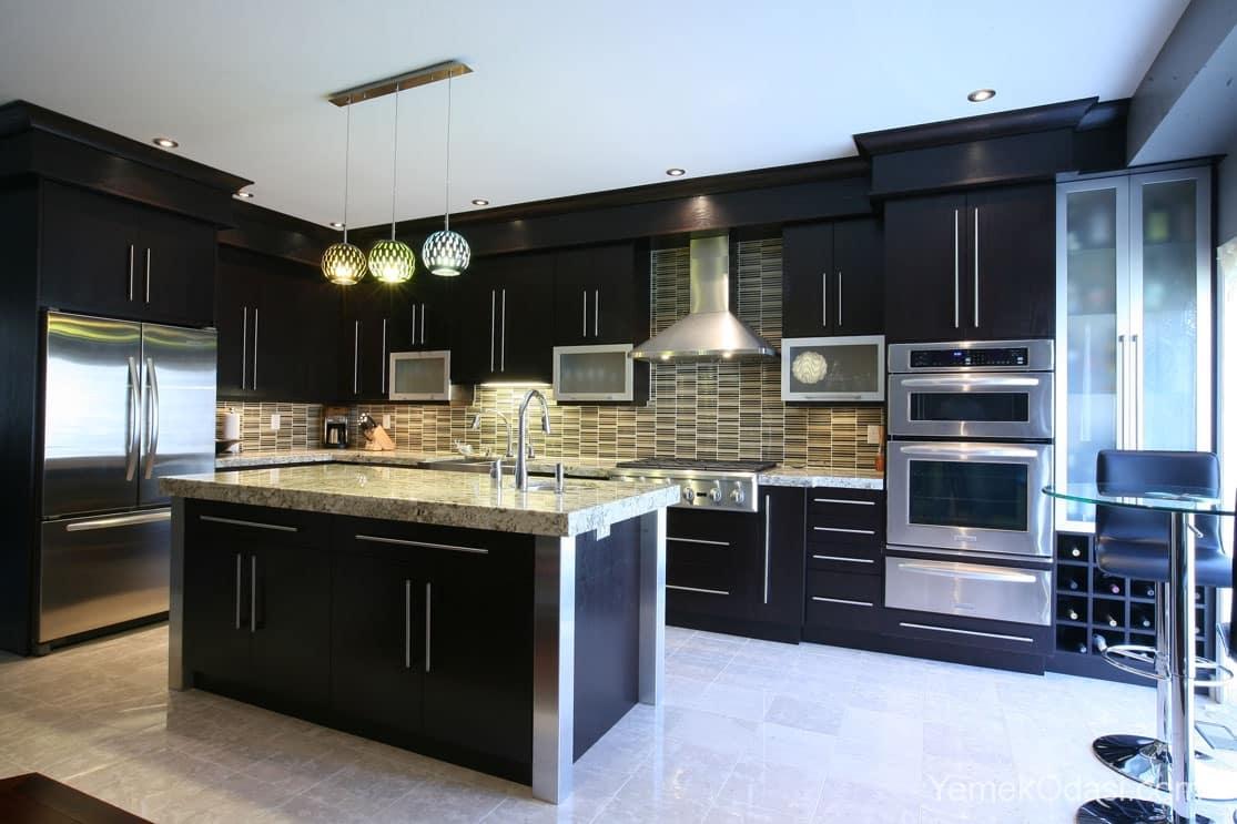 Amerikan Mutfak Dekorasyonları İle Mutfaklarınız Dudak Uçuklatacak 17