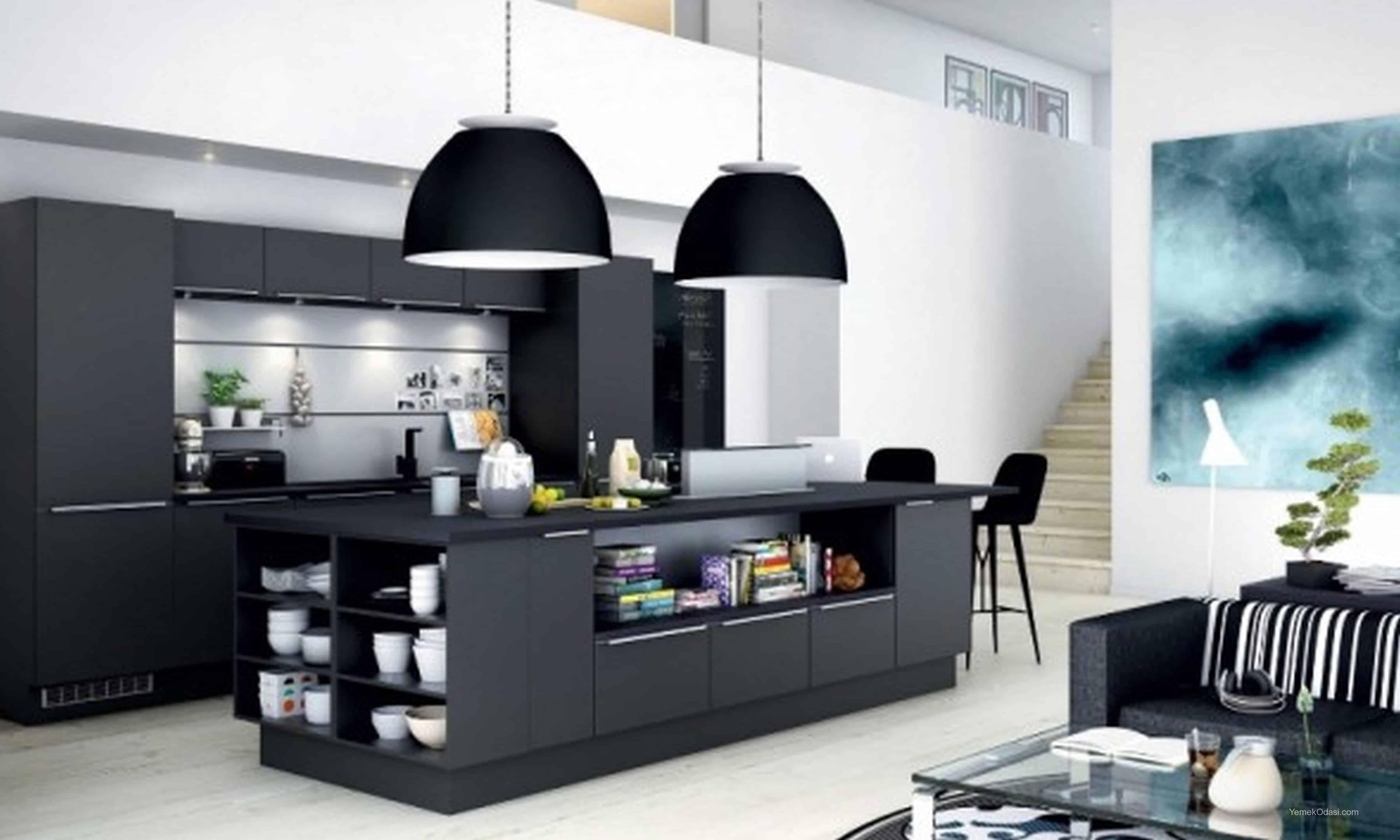 Amerikan Mutfak Dekorasyonları İle Mutfaklarınız Dudak Uçuklatacak 19