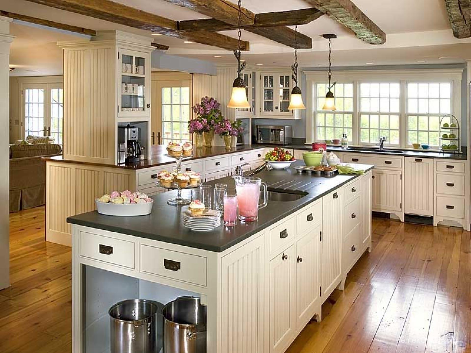 Amerikan Mutfak Dekorasyonları İle Mutfaklarınız Dudak Uçuklatacak 21
