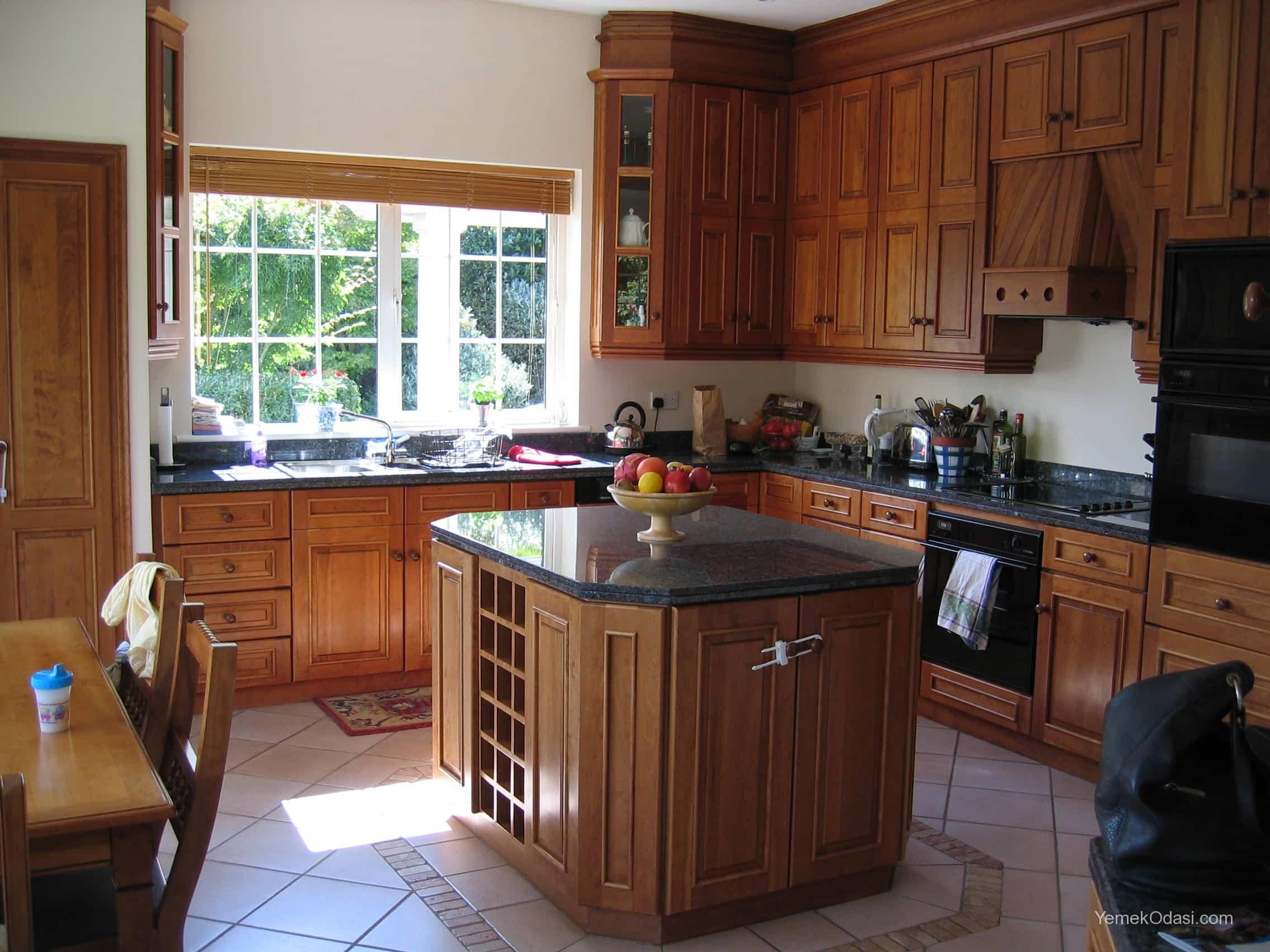 Amerikan Mutfak Dekorasyonları İle Mutfaklarınız Dudak Uçuklatacak 22