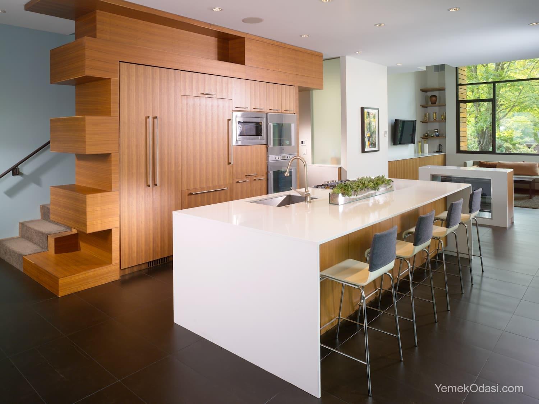 Amerikan Mutfak Dekorasyonları İle Mutfaklarınız Dudak Uçuklatacak 27