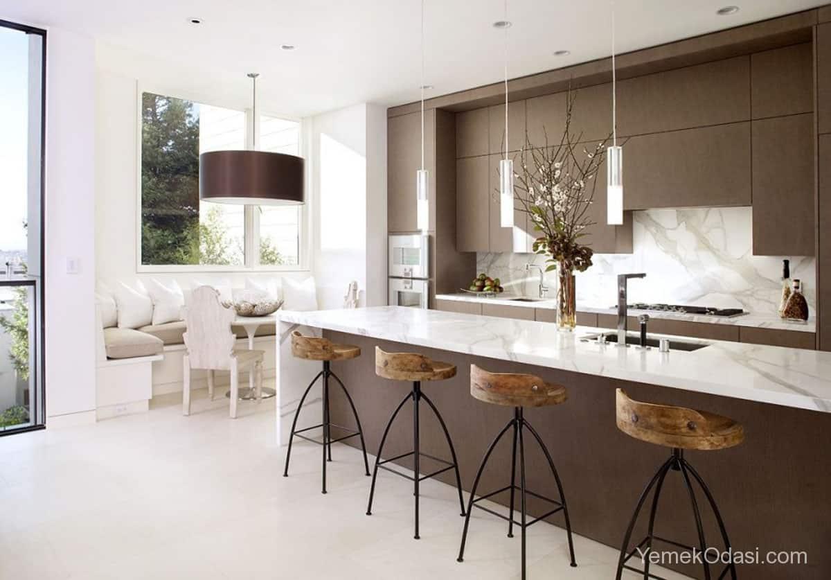 Amerikan Mutfak Dekorasyonları İle Mutfaklarınız Dudak Uçuklatacak 29