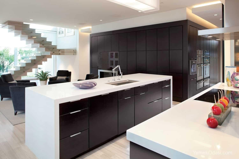 Amerikan Mutfak Dekorasyonları İle Mutfaklarınız Dudak Uçuklatacak 31