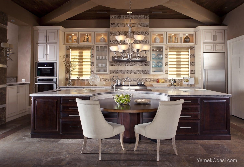 Amerikan Mutfak Dekorasyonları İle Mutfaklarınız Dudak Uçuklatacak 32