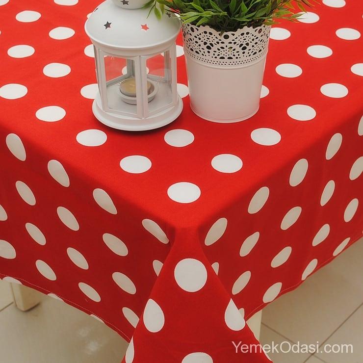 Bahçe Masası İçin Örtü Modelleri 1