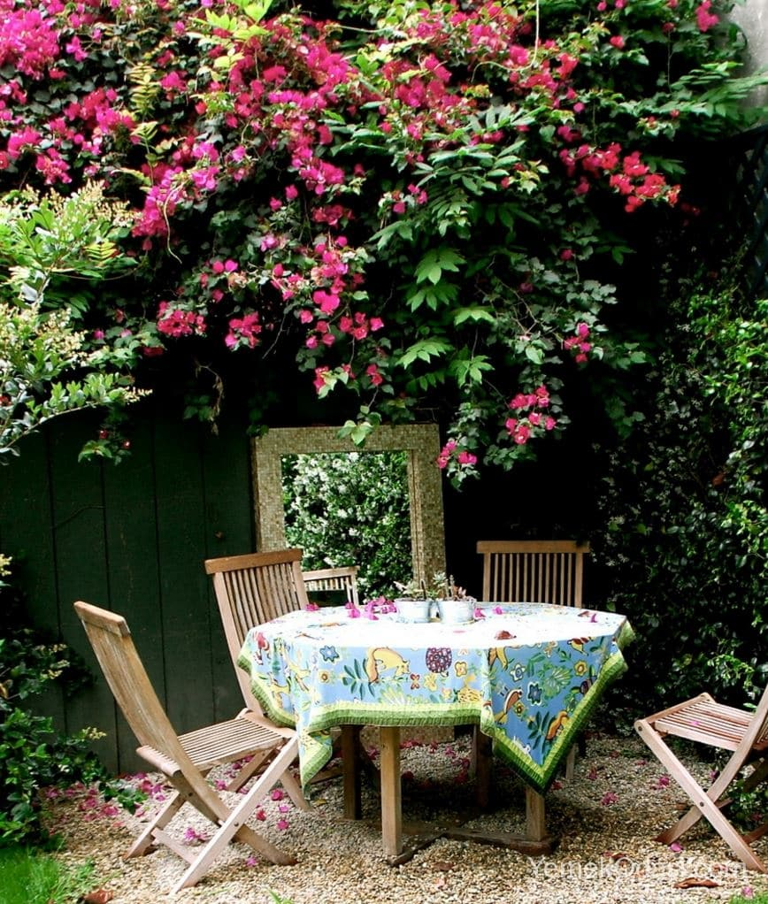 Bahçe Masası İçin Örtü Modelleri 8