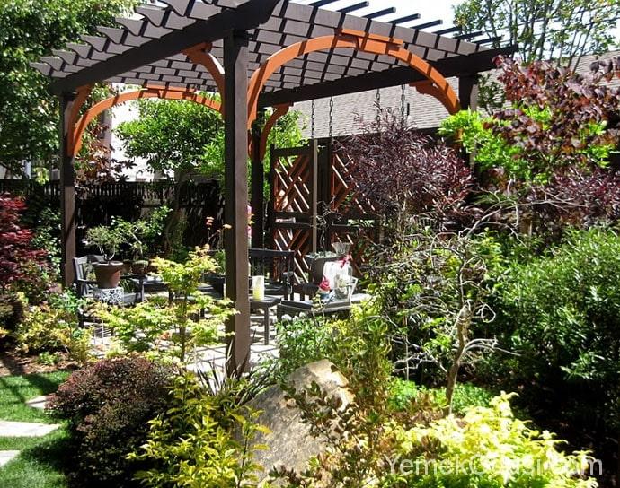 Bahçeler İçin Çardak Fikirleri 1